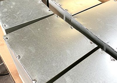 Galvanized Pitch Pocket Covers